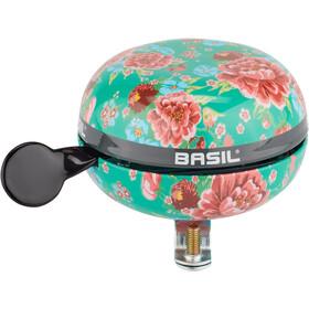 Basil Bloom Campanello Ø80mm, turchese/rosa